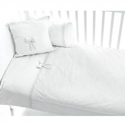 Постельное белье FUNNABABY Premium Baby (Фаннабэби Премиум Беби) 3 предмета белый