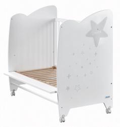 Кровать Micuna Estela (Микуна Эстела) 120*60 white/grey