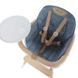 текстиль в стул Micuna OVO LUXE (Микуна Ово) TX-1646 Blue