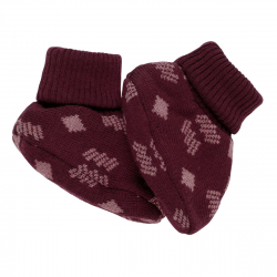 Пинетки Voksi (Вокси) Double Knit New Nordic red 6-12 м, 11007216