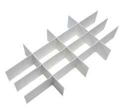 Разделитель Micuna (Микуна) для ящика тумбы или шкафа СР-1853 white