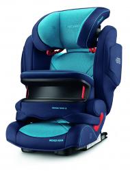 Автокресло Recaro Monza Nova IS, гр. 1/2/3, расцветка Xenon Blue