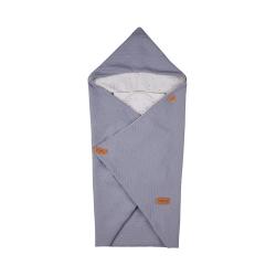 Одеяло-конверт Voksi (Вокси) Baby Wrap Star Light Grey 10010259
