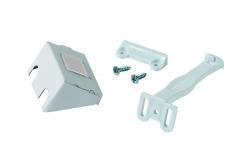 Пластиковый блокиратор Safety 1st открывания распашной дверцы (7 шт.) цвет белый