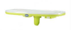 Столик к стульчику Chicco Polly New c разделителем цвет салатовый
