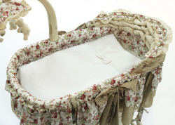 Набор FUNNABABY Premium Baby (Фаннабэби Премиум Беби) для электронной колыбели 75*60 см белый