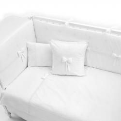 Постельное белье FUNNABABY Premium Baby  (Фаннабэби Премиум Беби) 5 предметов 120*60 белый