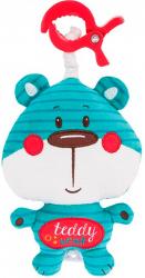 """Подвеска - мягкая музыкальная игрушка Canpol """"Forest Friends"""" арт. 68/048, форма: медвежонок"""