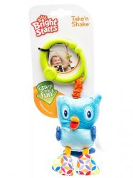 """Развивающая игрушка Bright Starts """"Дрожащий дружок"""" Сова"""