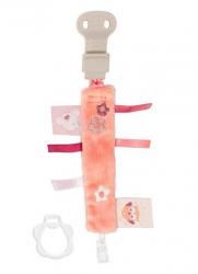 Игрушка мягкая Nattou Держатель соски Pacifinder (Наттоу) Adele & Valentine Мышка 424196