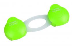 Блокатор многофункциональный (короткий) Canpol - 2 шт., арт. 74/010, цвет: зеленый