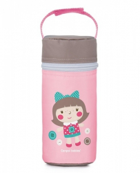 Термосумка для детских бутылочек Canpol Toys 69/008, цвет: розовый