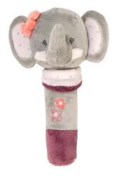 Игрушка мягкая Nattou Cri-Cris (Наттоу Кри Крис) Adele & Valentine Слоник 424127