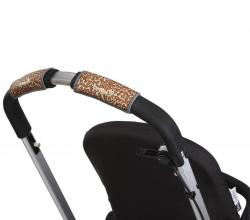 Чехлы Choopie CityGrips (Сити Грипс) на ручку для универсальной коляски 340/9433 Brown Leopard