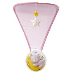 Мобиль Chicco Next2Moon {розовый}
