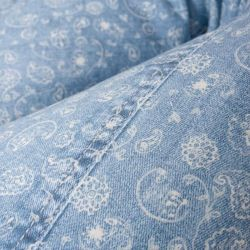 Подушка для кормления Ceba Baby Physio DUO (Себа Беби Физио Дуо) Denim Style Boho blue W-705-119-592