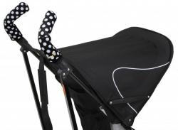 Чехлы Choopie CityGrips (Сити Грипс) на ручки для коляски-трости 331/4240 polka-dot black