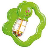 Погремушка Canpol Улитка/бабочка, 0+ мес., арт. 2/874, цвет: зеленый, форма: бабочка