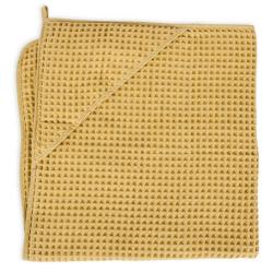 Полотенце-уголок Ceba Baby (Себа Беби) 100*100 см вафельное Cream Gold W-815-303-171