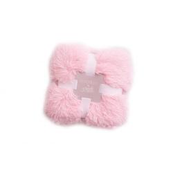 Плед Bizzi Growin (Биззи Гровин) 90*90 Koochicoo pink BG022