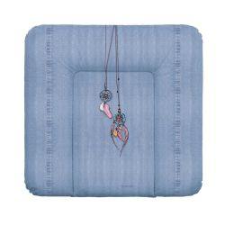 Матрас пеленальный Ceba Baby (Себа Беби) 70*75 см мягкий на комод Denim Style Dream Catcher blue W-144-119-598