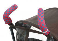 Чехлы Choopie CityGrips (Сити Грипс) на ручки для коляски-трости 371/4189 polka-dot pink