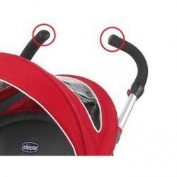 Заглушка к ручке на коляску Chicco Multiway Evo цвет чёрный