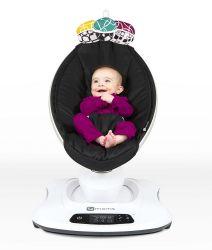 Кресло-качалка 4Moms МамаРу 4.0 графитовый меш