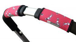 Чехлы Choopie CityGrips (Сити Грипс) на ручку для универсальной коляски 376/4158 pink bunny