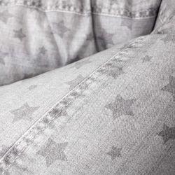 Подушка для кормления Ceba Baby Physio Mini (Себа Беби Физио Мини) Denim Style Stars grey W-702-119-587