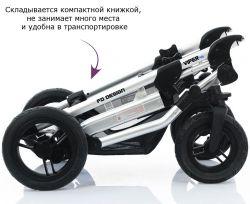 Коляска 2 в 1 FD-Design Viper  (Эф Д Дизайн Випэ) 4S Malibu