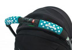 Чехлы Choopie CityGrips (Сити Грипс) на ручку для универсальной коляски 370/4219 polka-dot aqua
