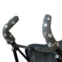 Чехлы Choopie CityGrips (Сити Грипс) на ручки для коляски-трости 373/4165 grey elephant