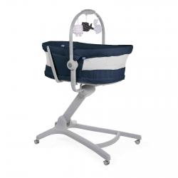 Кроватка-стульчик Chicco Baby Hug 4-в-1 Air {India Ink}