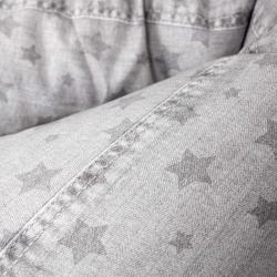 Подушка для кормления Ceba Baby Physio DUO (Себа Беби Физио Дуо) Denim Style Stars grey W-705-119-587