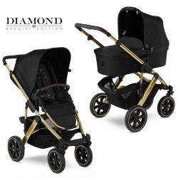 Коляска 2 в 1 FD-Design Salsa 4 (Эф Д Дизайн Сальса) Air Diamond Champagne 12002312005
