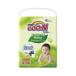 Подгузники-трусики GOO.N Cheerful Baby XXL (15-25 кг) 34 шт.