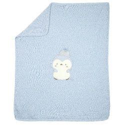 Плед для коляски Chicco для мальчиков, размер 099, цвет голубой
