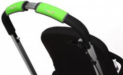 Чехлы Choopie CityGrips (Сити Грипс) на ручку для универсальной коляски 336/9457 Neon Green