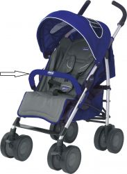 Бампер к коляске Chicco MultiWay Evo Blue