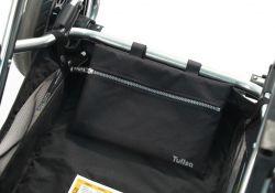 Дождевик для прогулочной коляски Tullsa (Туллса) Chevron black/grey 83713