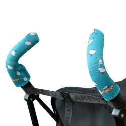 Чехлы Choopie CityGrips (Сити Грипс) на ручки для коляски-трости 379/4103 aqua whale