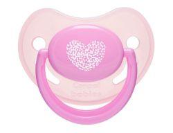 Пустышка Canpol Pastelove анатомич., силик., 6-18 мес., арт. 22/420, цвет: розовый