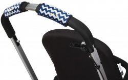 Чехлы Choopie CityGrips (Сити Грипс) на ручку для универсальной коляски 330/4295 chevron navy