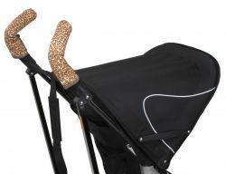 Чехлы Choopie CityGrips (Сити Грипс) на ручки для коляски-трости 339/9525 Brown Leopard