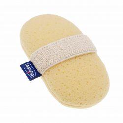 Губка-рукавичка Chicco Baby Moments для купания ребенка с карманом для мыла, 0+, 320615058