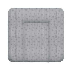 Матрас пеленальный Ceba Baby (Себа Беби) 70*75 см мягкий на комод Denim Style Stars grey W-144-119-588