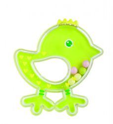 Погремушка Canpol Птичка арт. 2/189, 0м+, цвет: зеленый