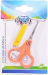 Ножницы безопасные в чехле Canpol арт. 2/809 цвет оранжевый