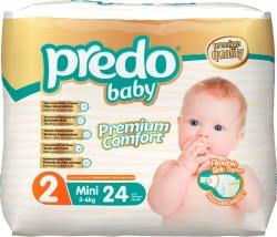 Подгузники детские Predo Baby (24 шт.) № 2 (3-6 кг) мини